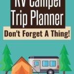 FREE RV Printable-Road Trip Planner