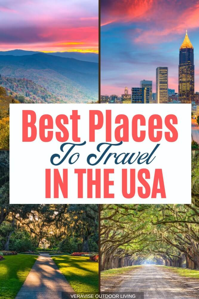 Where is the best place to travel in the USA?  We know that is a subjective question, but we have set out to answer it anyway.  Use our Best Places to travel [In The US] resource guide to find inspiration for your next USA travel destination. #travel #usa #vacation