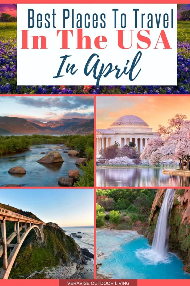 Best USA Travel Destinations for April