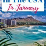 Best Places to travel in the US in January