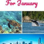 January Travel Destinations in the US