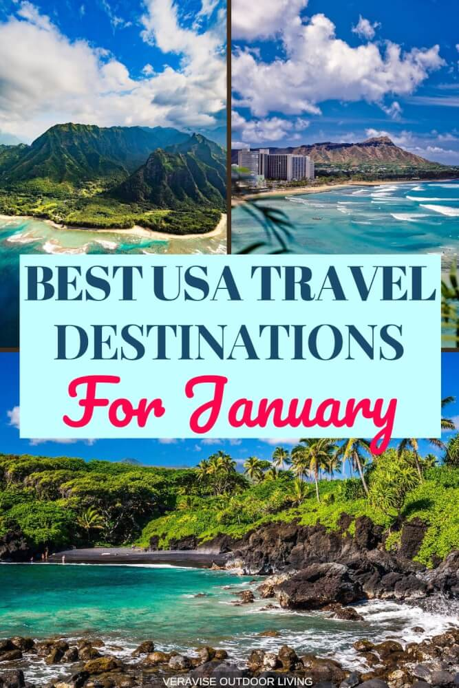 Best Places To Travel in January in the United States of America