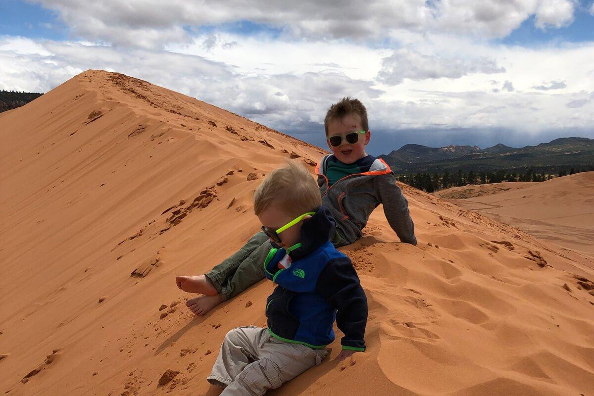 Kanab Utah with Toddlers