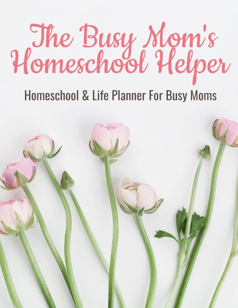 Copy of The Busy Mom's Homeschool Helper [Bible Reading, Meal Planning, Homeschool Planner]