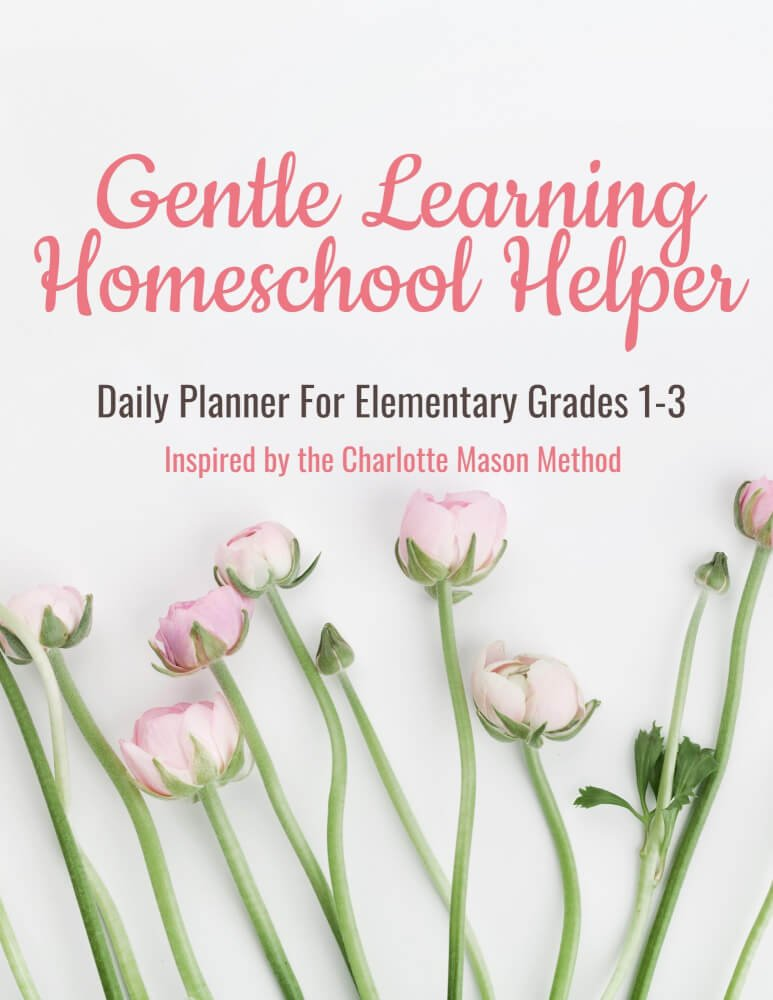 GENTLE LEARNING HOMESCHOOL HELPER PLANNER HOMEPAGE