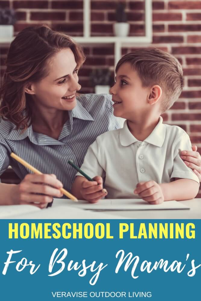 homeschool planning for busy moms