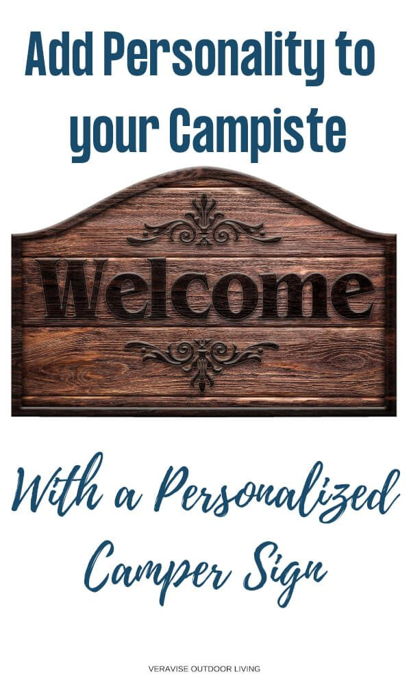 RV Camper Signs