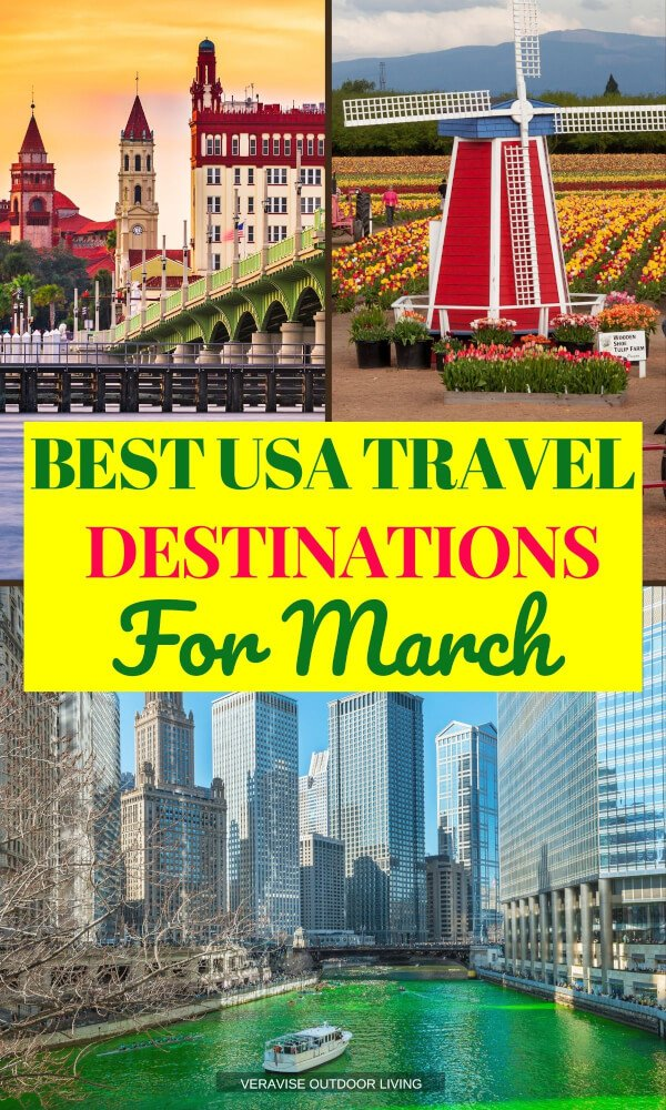 Best USA Travel Destinations for March