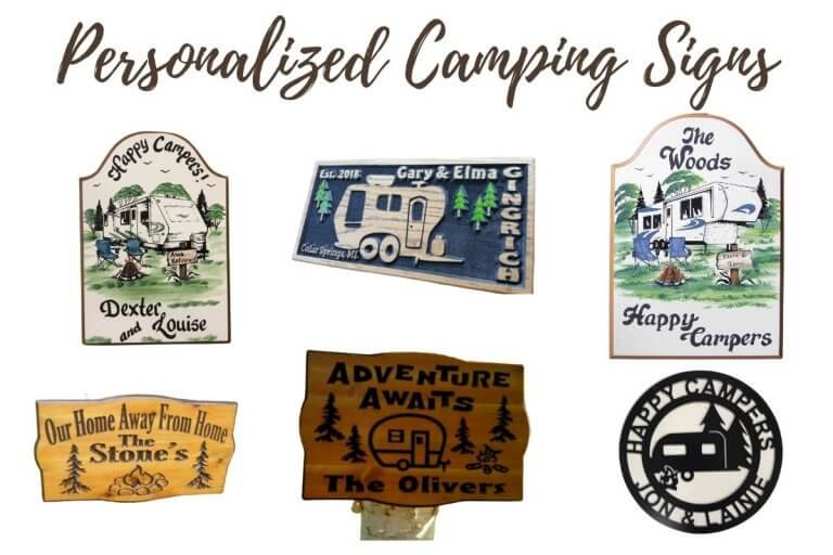 7 Personalized Camping Signs That Will Make You The Envy of the Campground
