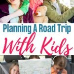 planning a road trip with the kids