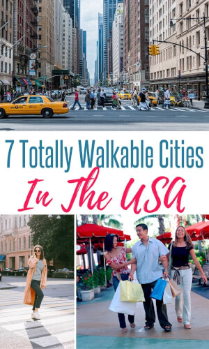 most walkable US cities