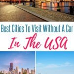 Best places to travel without a car in the US