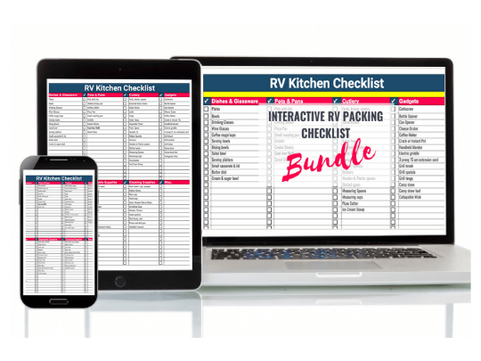 RV Interactive Packing Lists