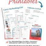 Printable Travel Planning Pages