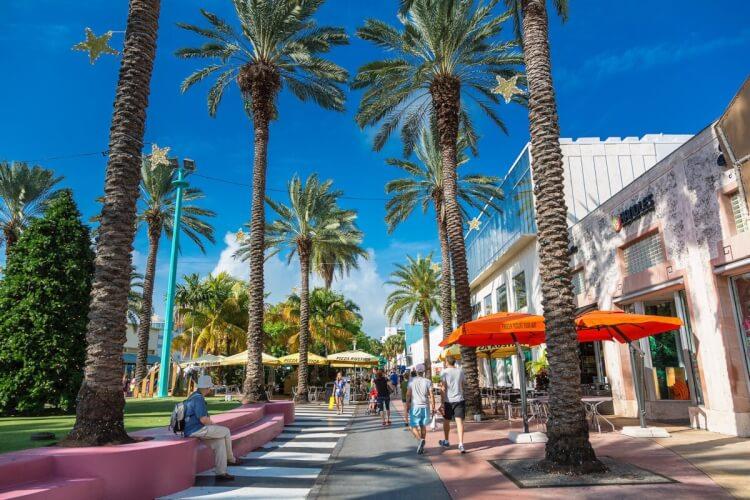 Lincoln Rd Mall Miami Beach