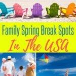 Family Spring Break Spots in the USA
