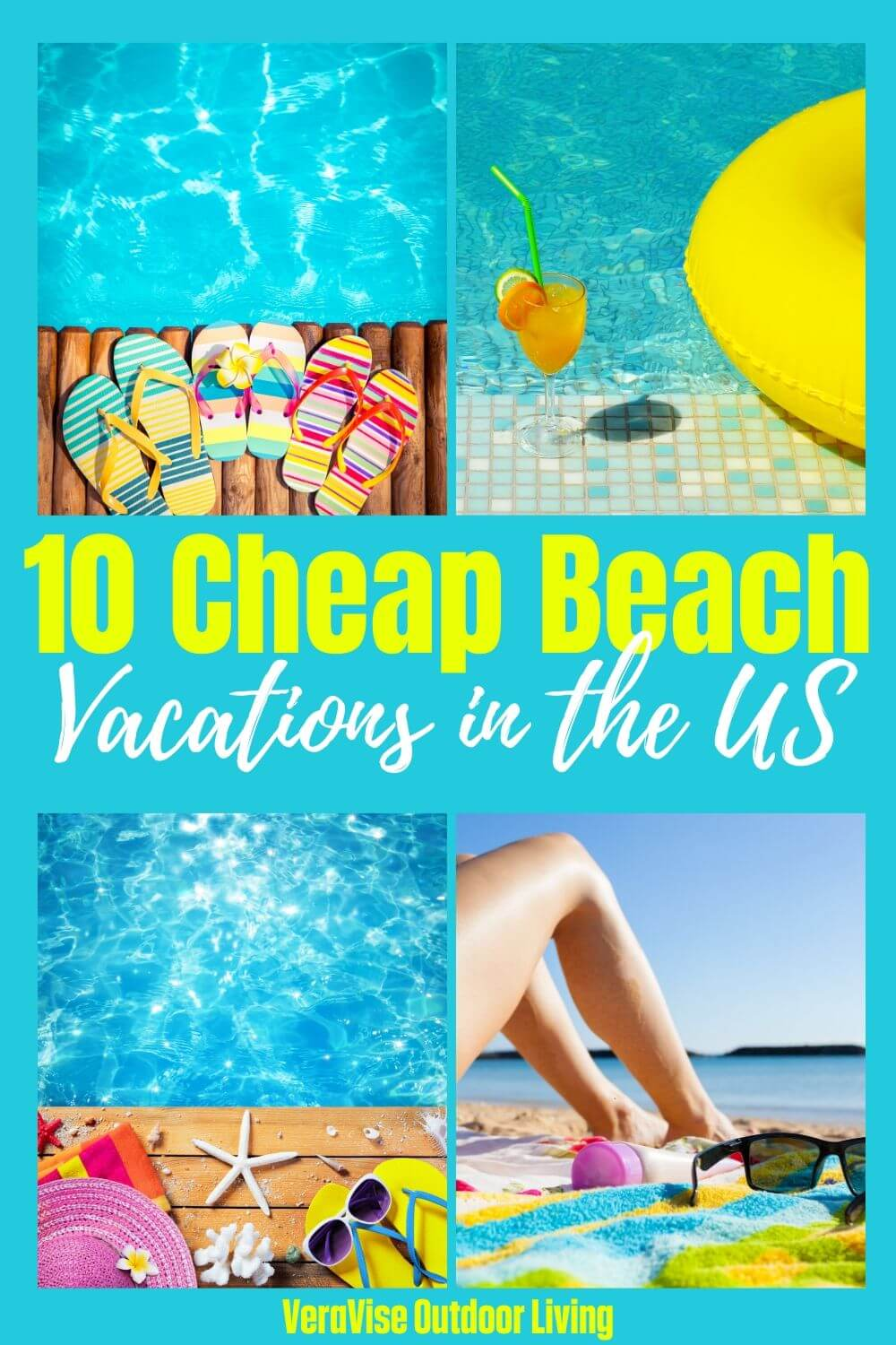 If you are looking for a cheap beach vacation this year, you will love these beautiful USA beaches for an affordable family beach trip. #beach #travel #budgettravel