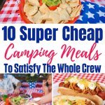 Cheap camping meals for the whole family