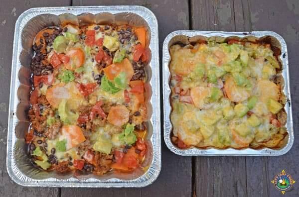 Campfire Grilled Nachos Recipe