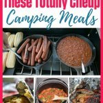 Cheap camping meal ideas