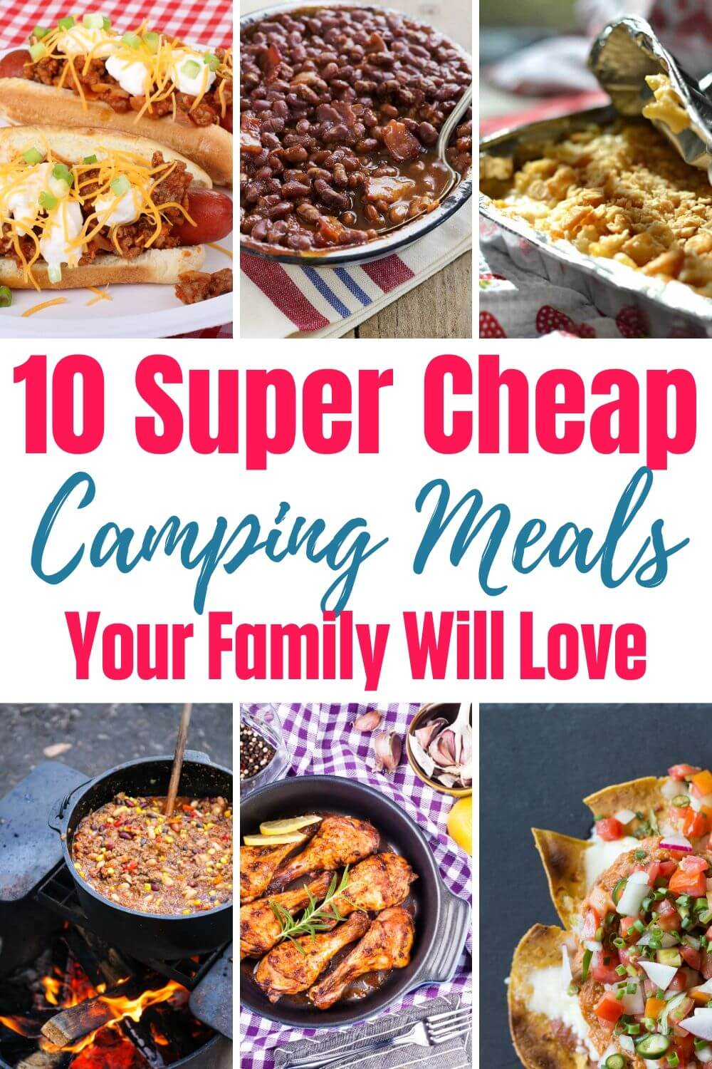 Cheap Camping Meals