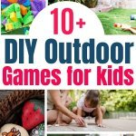 do it yourself outdoor games for kids