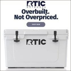 rtic camping cooler