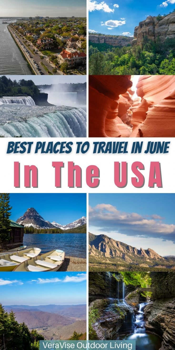 Best places to Travel in June in the USA