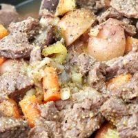 Campfire Cast Iron Dutch Oven Beef Stew Recipe
