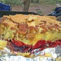 Camping Dutch Oven Dump Cake Recipe
