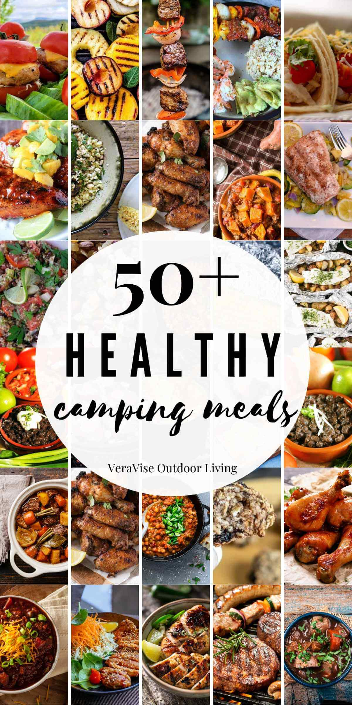 healthy camping meals
