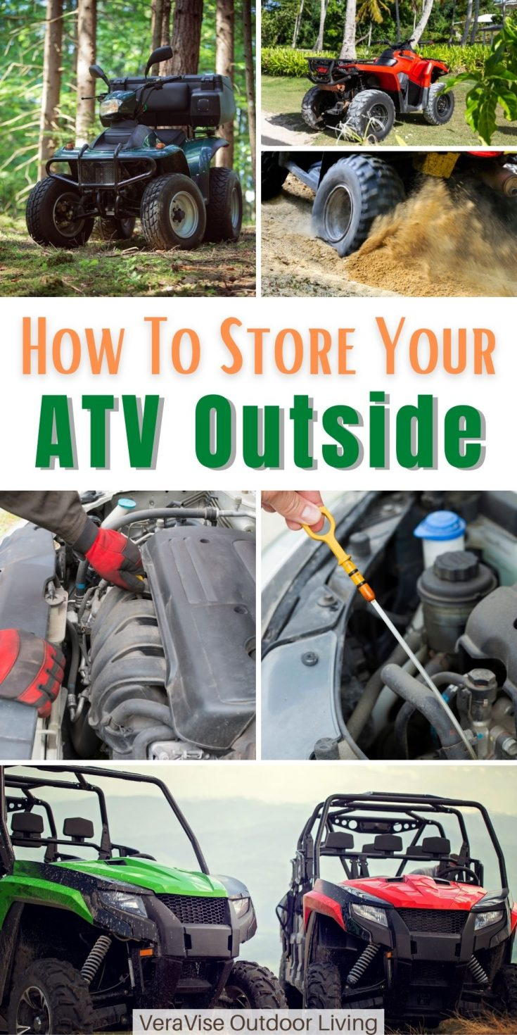 How to store your ATV outside