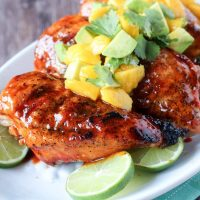 Sriracha Chicken Breasts- Sriracha Honey Glazed Chicken - Easy recipe