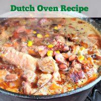 Spicy Smoked Brisket Chili Dutch Oven Recipe