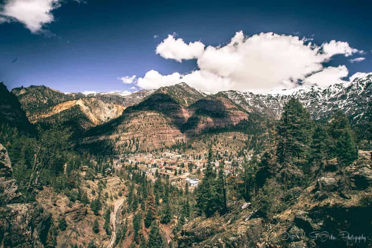 best places to travel in the usa in august- ouray colorado