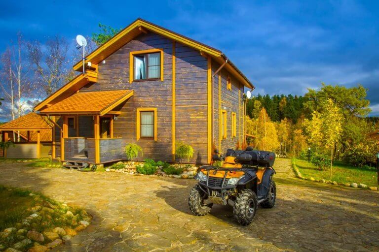 How To Store An ATV Outside