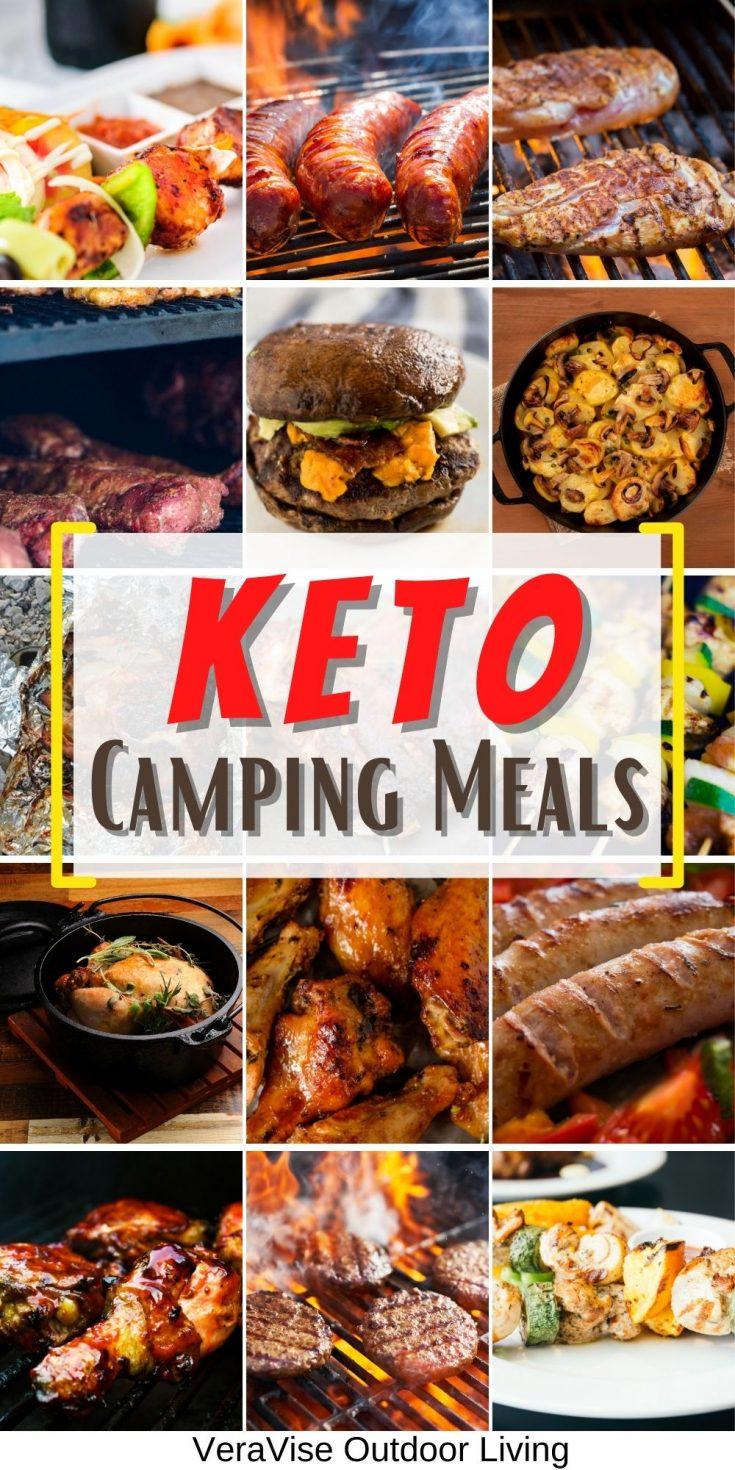 keto camping meal