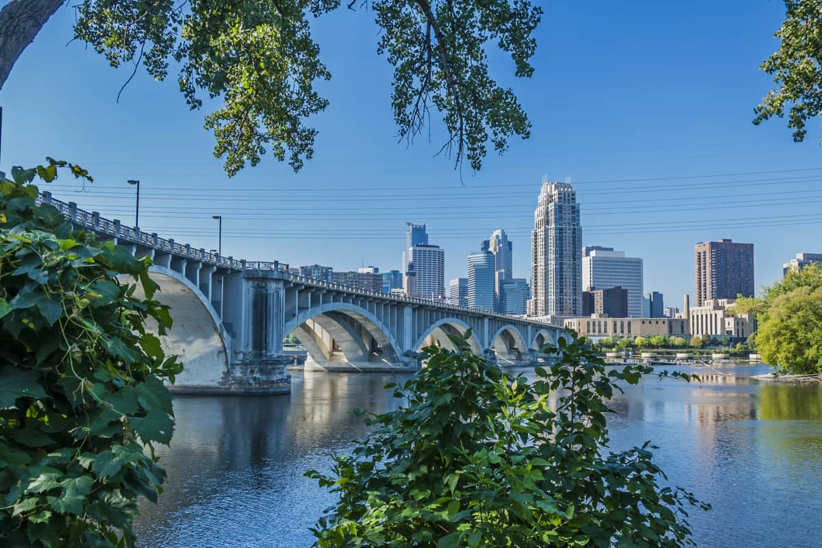 best places to travel in the usa in august- minneapolis mn