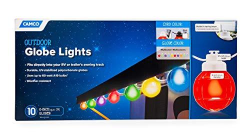 Decorative RV Awning Globe Lights