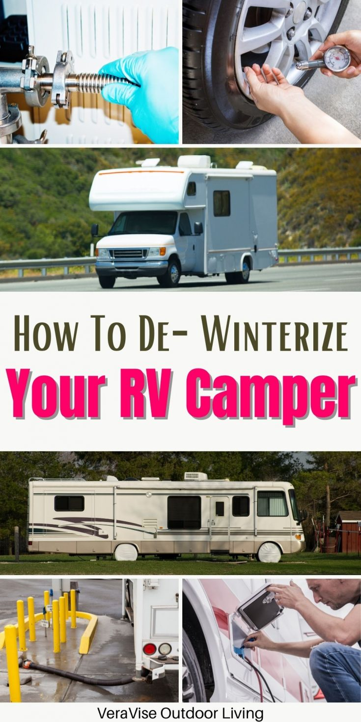 How to de winterize rv campers