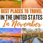 best travel destinations in the USA in November