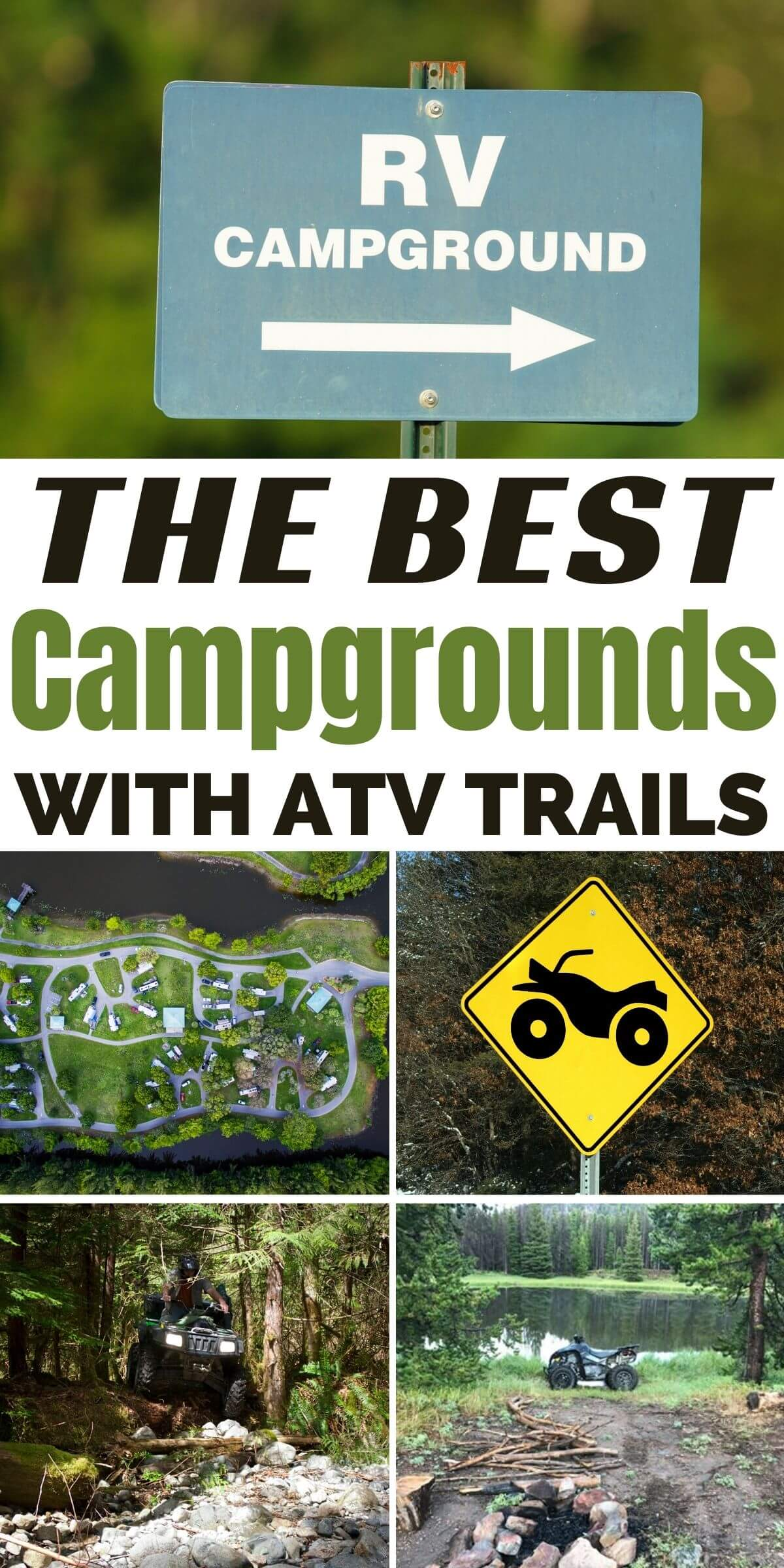 campgrounds with atv trails