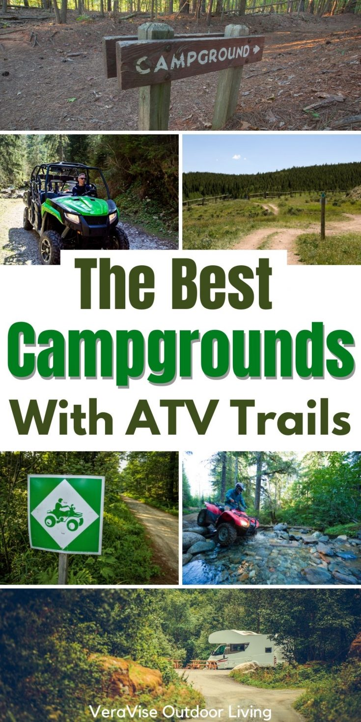 best campgrounds wth ATV trails
