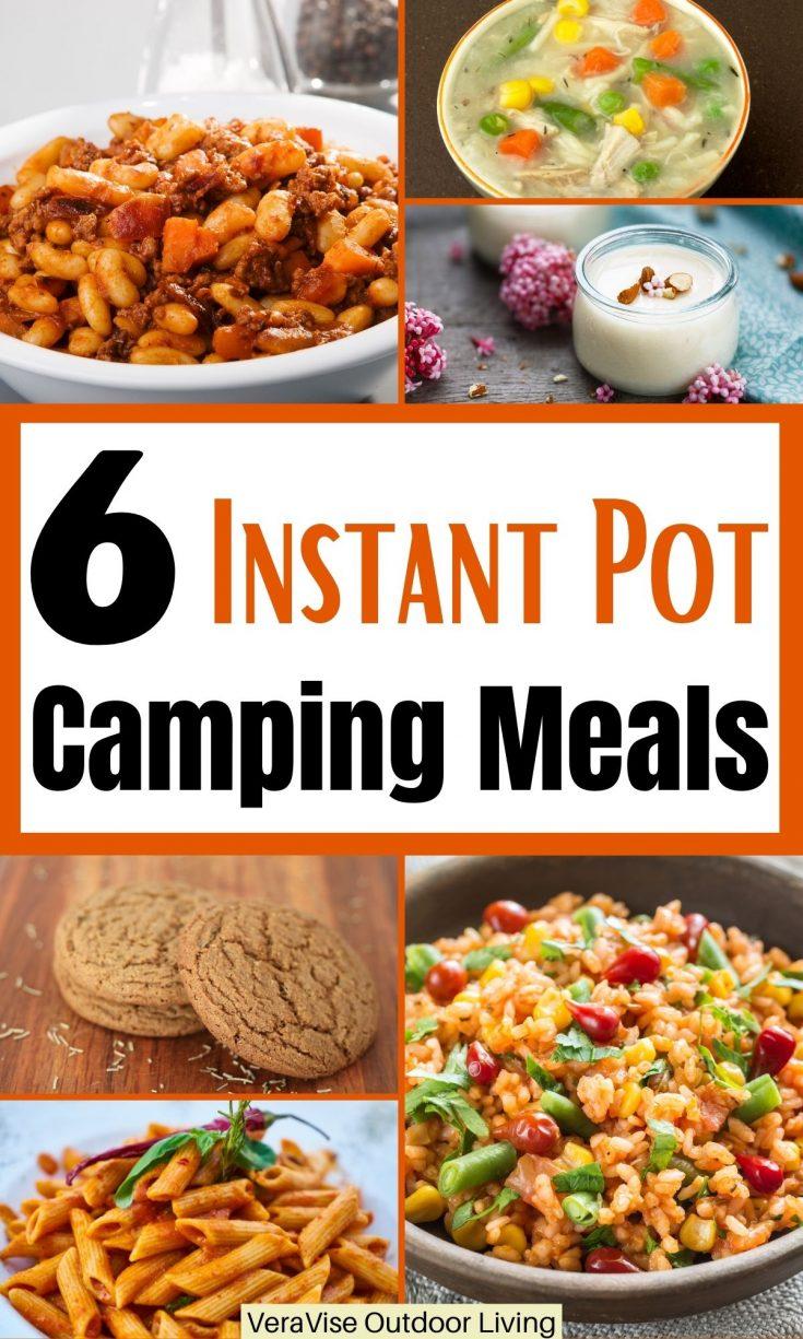 instant pot camping meals