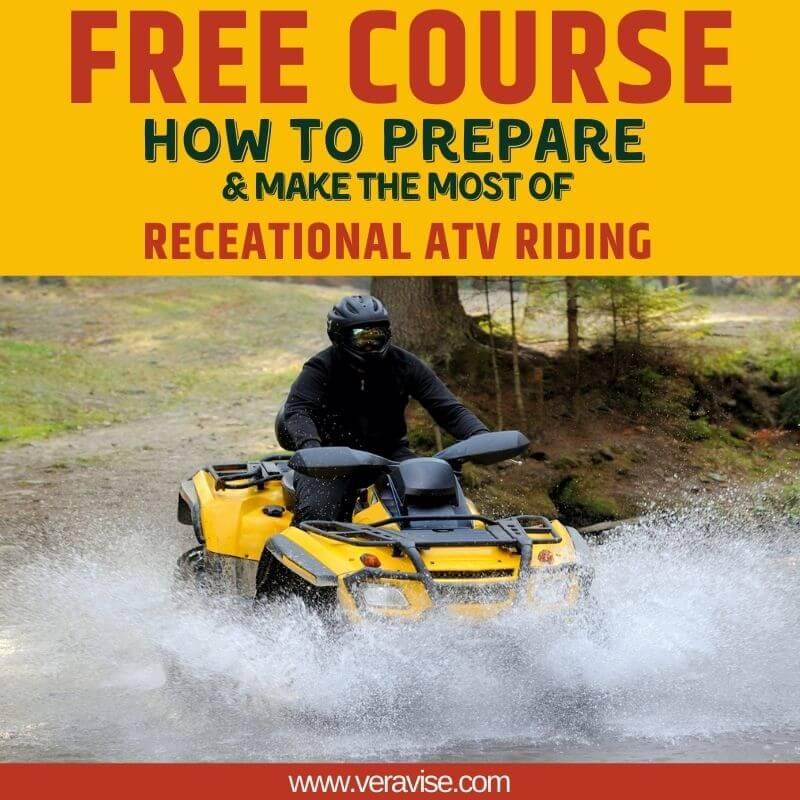 Recreational ATV Riding Course