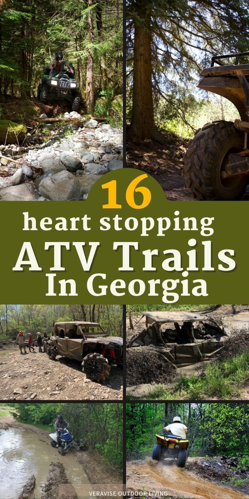 GA ATV trails