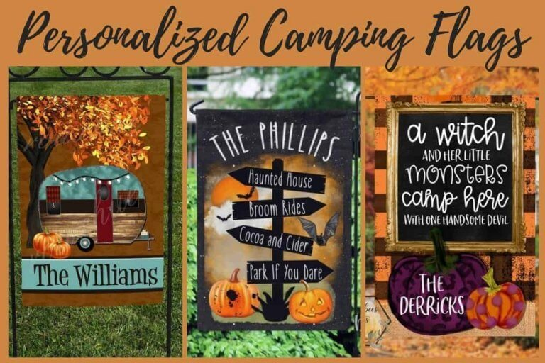 10 Personalized Camping Flags To Express Your Unique Personality