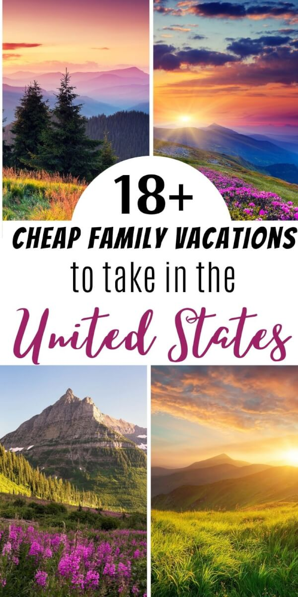 cheap family vacations in the usa