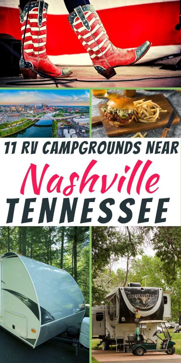 RV Campgrounds Near Nashville, TN