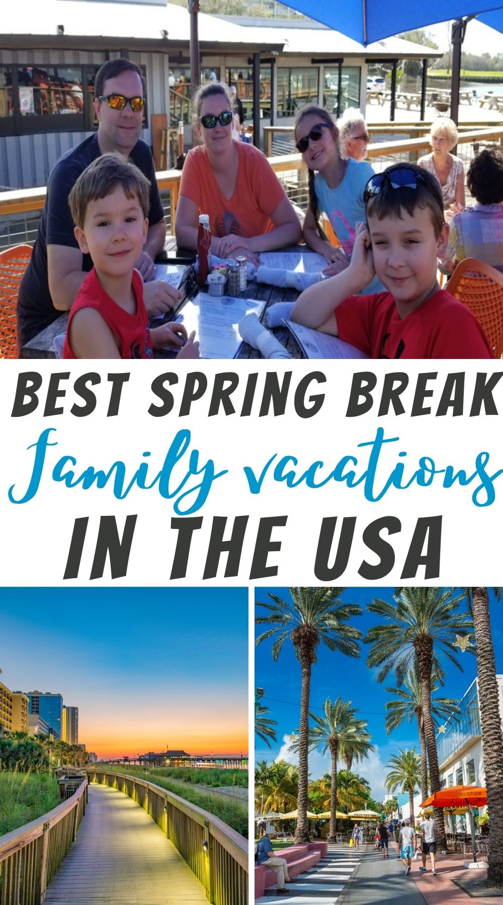 best spring break vacations in the usa